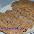 Haferkleie-Leinsamen Brot