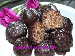 Kokos-Dattel Pralinen